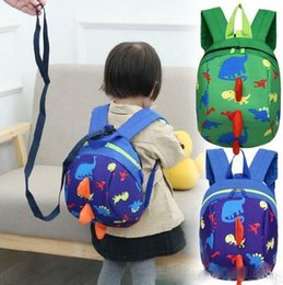 $enCountryForm.capitalKeyWord Canada - Anti-lost Kids Backpack Cute Cartoon Dinosaur Animal Print Children Backpacks for Boys Girl Kindergaden School Backpacks