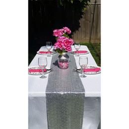 $enCountryForm.capitalKeyWord NZ - Gold Silver Brown Sequin Table Runner Wedding Sparkly Bling Party Decor