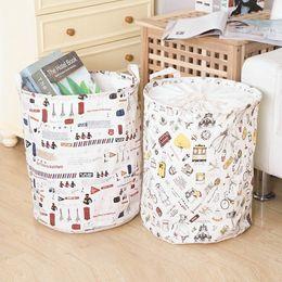 $enCountryForm.capitalKeyWord NZ - Fashion Foldable Pop Up Dirty Clothes Washing Laundry Basket Bag Bin Hamper Storage for Home Housekeeping Use Storage Baskets 2017 Style