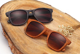Outlet wOOd online shopping - Factory outlets European and American retro sunglasses trend sunglasses wild wood grain outdoor spectacles sunglasses color