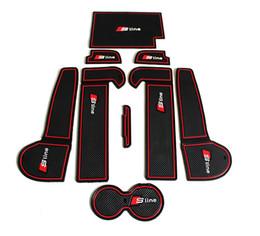 Ingrosso Slot per tappetino antiscivolo di alta qualità in gomma auto tappetino antiscivolo Accessori auto per Audi A6 C6 (2005-2011) A6 C7 (2012-2015) Car Styling