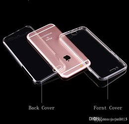 $enCountryForm.capitalKeyWord Canada - 360 degree full Complete cover front back soft TPU phone case Crystal Clear Transparent Silicon Ultra Thin for iphone 6 6s plus