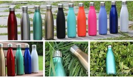 $enCountryForm.capitalKeyWord NZ - Cola Shaped Water Bottle 500ml Double Wall Stainless Steel Vacuum Stainless Steel Coke Water Bowling Bottles 30pcs OOA1869 Arts and Crafts