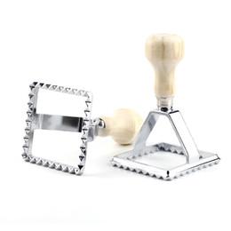 Wholesale 70cm Square Shape Ravioli Stamp Pastry Cutter Dumpling Wrapper Maker Kitchen Pasta Tools