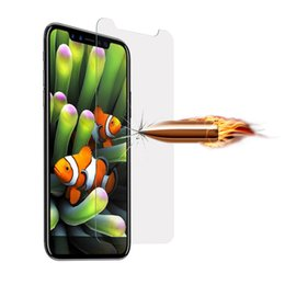 $enCountryForm.capitalKeyWord Australia - For Iphone X 0.3MM 2.5D Premium Tempered Glass Screen Protector Clear Cell PHone Film Films Guard With Retail Package