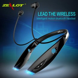 Discount best bluetooth headset for blackberry - ZEALOT H1 Wireless Sport Earphone Best Quality 4.0 Bluetooth MP3 Phone Call Support Black and White Colors VS hbs 900