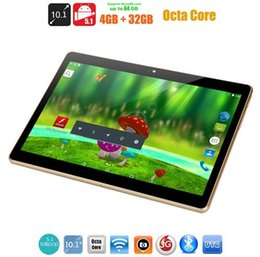 $enCountryForm.capitalKeyWord NZ - 10.1-inch octa-core tablet PC the smart tablet HD 1280*800 Tablet Mobile Unicom 3G   4G Phone Call Android 5.1 ips