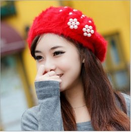$enCountryForm.capitalKeyWord Canada - Elegant 2016 new Women Hat Winter & Fall Beanies Knitted Hats For Woman Rabbit Fur Cap Autumn And Winter Ladies Female Fashion Skullies