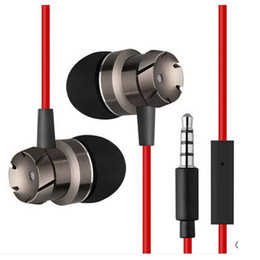 $enCountryForm.capitalKeyWord UK - New Design Metal 3.5MM Jack Earphones Headset Stereo Sound Clear Call Portable in-ear Earbuds With Mic For Phone MP3 player