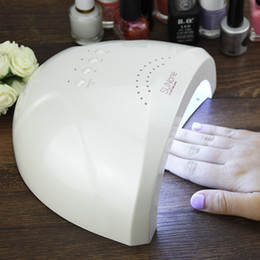 Barato Gel Grossista De Lâmpada Leve-Atacado-SunONE Professional White Light 48W UV LED Lamp prego UV Secador de 365 + 405 nm Cura Gel UV Gel LED prego Ferramenta Art Nail Polish