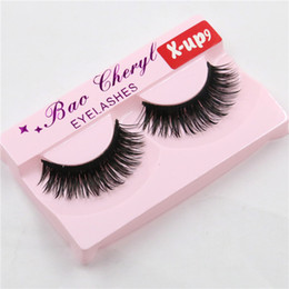 X Long Hair Canada - High Quality Eyelash Black False Eyelashes Handmade Natural Long Thick Beautiful Eyes Makeup Cosmetic Tools Fake Eye Lash extensions X-up9