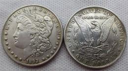 Monedas de EE. UU. Dólar de Morgan 1893-s Promoción Precio de fábrica barato hogar agradable Accesorios Monedas de plata