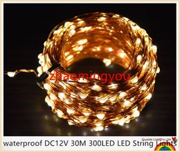 $enCountryForm.capitalKeyWord Canada - YON waterproof DC24V 30M 300LED LED String Lights Christmas Fairy Lights 8 colors Copper Wire LED Starry Lights Wedding Decoration24