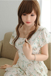 japanese real life dolls man Canada - Sexy toy real love doll life size japanese silicone sex dolls realistic vagina lifelike sex doll adult male masturbation toys for men