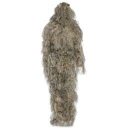 Оптово-охотничья лесная 3D-бионная лилия для маскировки униформы CS Камуфляжные костюмы Set Sniper Ghillie Suit Jungle Train Hunting Cloth