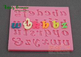$enCountryForm.capitalKeyWord Canada - New Fondant Cake Lowercase Letters Alphabet Molds Set Silicone Molds bakery mini muffin decorating tools Cake Decorating Tool Soap Molds