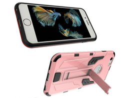 $enCountryForm.capitalKeyWord Australia - Hybrid Defender Cases Robot Boxes Case PC+TPU Cover for iphone 7 7 pro Galaxy S7 S7 edge TPU Soft Kickstand Back Cover Case