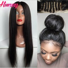 $enCountryForm.capitalKeyWord Canada - Best Virign Brazilian Full Lace Human Hair Wigs Silky Straight Remy Human Hair Lace Front Wigs Glueless Lace Front Wig with Baby Hair