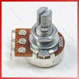Split Audio NZ - Consumer Electronics Shop - Shipping 10pcs lot New A500K Split Shaft Pots Potentiometer Guitar Audio Tone Switch