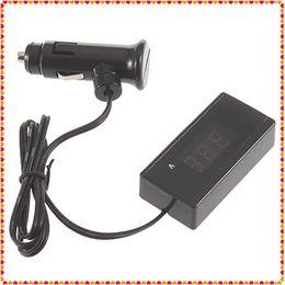 Auto voltAge tester online shopping - KW2001 High Quality Hot Sale V V Digital Red LED Digital Car Auto Vehicle Battery Voltage Gauge Volt Meter Voltmeter Voltage Tester