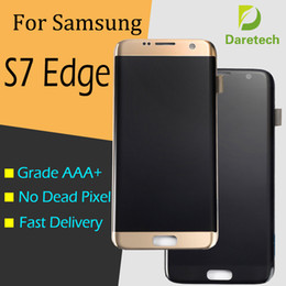 EdgE displays online shopping - Quality Original LCD Screen Display for Samsung Galaxy S7 Edge G935F G935A G935V T Touch Screen Digitizer Assembly Replacement Parts