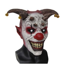$enCountryForm.capitalKeyWord UK - Mask X -Merry Toy Jingle Jangle The Clown Horror Latex Halloween Scary Head Mask Free Shipping X12048