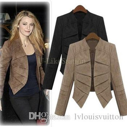Discount Brown Suede Jacket Women | 2017 Brown Suede Jacket Women ...