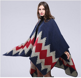 2308ff973 Ladies winter ponchos capes online shopping - 1PCS autumn winter scarf grid  woman travel shawls wool