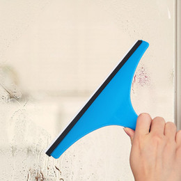 $enCountryForm.capitalKeyWord NZ - Silicone Window Car Glass Cleaner Bathroom Mirror Wiper Shower Squeegee Water Scraper Blade Brush Household Cleaning Tools