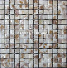 Free Shipping Cheap Shell Mosaic Tiles Natural Decorative Mother Of Pearl Tiles Kitchen Backsplash Tile Bathroom Wall Flooring