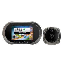 $enCountryForm.capitalKeyWord UK - 3.5inch video eye videoglazok door bell Touchable TFT LCD PIR Motion sensor IR Night vision Anti-temper GSM call SMS MMS Alarm