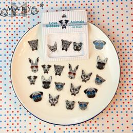 $enCountryForm.capitalKeyWord Canada - Wholesale-Korea stationery sticker 2016 New glasses control pvc phone stickers Small animals Phone Stickers Free Shipping Random Style
