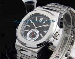 $enCountryForm.capitalKeyWord Canada - Luxury Watches Stainless Steel Bracelet AUTHENTIC Nautilus Mens 5980 watch Mechanical MAN WATCH Wristwatch