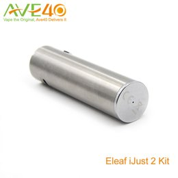 Ijust2 battery online shopping - Eleaf Ijust Battery mAh TC Ti and Ni Mode Original fit Ijust2 Starter Kit