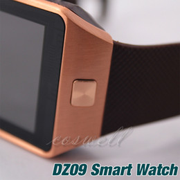 smart watch cell phone for bluetooth 2019 - Newest Smartwatch DZ09 Bluetooth Smart Watch Wearable DZ 09 sport Box package SIM Card For Apple IOS Android Cell phone