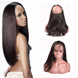 $enCountryForm.capitalKeyWord NZ - 360 Lace Frontal 7A Brazilian Human Hair Lace Frontal Closure Straight 360 Lace Virgin Hair Pre Plucked Lace Frontals