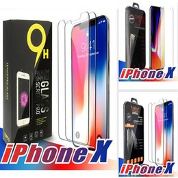 Wholesale Iphone Tempered Glass Canada - For Iphone X 8 7 7 plus 6 J7 2017 LG Stylo 3 Screen Protector Film Tempered Glass For Samsung S6 S7 EP Premium quality Retailbox