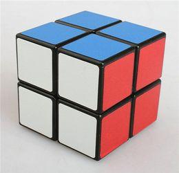 Magic Cube Magic Abs Professional Speed Cube Puzzle Twist Cinto liso Speed Twist Entrada de segunda ordem Black Frosted Cube