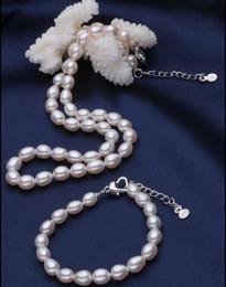 $enCountryForm.capitalKeyWord Canada - Charming 12-13mm south sea white baroque pearl necklace 18 inch 925 silver clasp free bracelet 7.5-8 incch