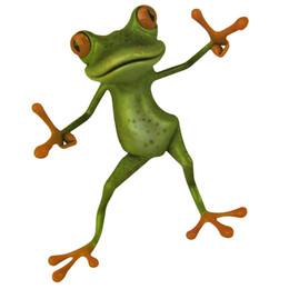$enCountryForm.capitalKeyWord UK - 1 pcs Creative Bathroom Toilet Seat Sticker DIY Novelty Animal Green Frog Decal Wall Stickers Bathroom Decor