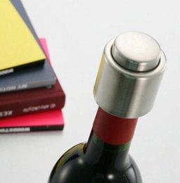 Опт Смарт-Нержавеющей Стали Вакуумной Печатью Красное Вино Хранения Бутылки Пробка Крышки Бутылки Новое Хорошее Качество