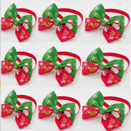 $enCountryForm.capitalKeyWord Canada - 120pcs lot Christmas Holiday Pet Puppy Dog Cat Bow Ties Cute Neckties Collar Accessories Grooming Supplies P88