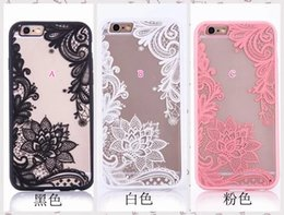 feather flowers 2019 - Flower Lace Case For Iphone X 8 7 7Plus 4.7 6 6S Plus SE 5 5S Henna Paisley Mandala Dreamcatcher Clear Feather Hard Plas