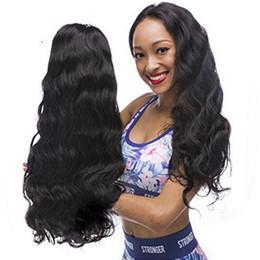Virgin Brazilian Human Hair Wigs NZ - Body Wave Lace Front Human Hair Wigs For Black Women Pre Plucked Natural Hairline Brazilian Indian Peruvian Virgin Hair
