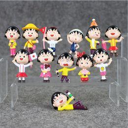 $enCountryForm.capitalKeyWord Canada - 4.5-6.5cm Chibi Maruko Chan sakura momoko PVC Action Figure Collectable Model Toy for kids gift free shipping EMS