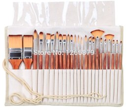 H Case Australia - 2281Paint Brushes Set Acrylic Watercolor Brushes Set With Pencil Case For School Artistic For Artists Painting Drawing