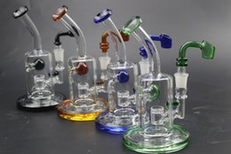 $enCountryForm.capitalKeyWord Australia - Color Stock oil rigs glass bongs water pipes with honeycomb Joint 14.5mm perc percolator blunt dab rigs Hookahs bubbler Water bongs