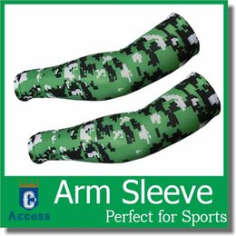 $enCountryForm.capitalKeyWord Canada - New Cycling Bike Bicycle Camo Arm Warmers Cuff Sleeves Cover UV Sun Protection 128 color