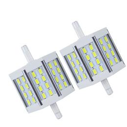 $enCountryForm.capitalKeyWord UK - Generic 10w 78mm 24led Smd5730 R7s LED Light bulb Dimmable AC85-265V Aluminum LED Light Replacement for Halogen Floodlight Lamp