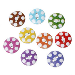 $enCountryForm.capitalKeyWord Canada - 2015 New 200pcs Mixed 2 Holes Wooden Round Dot Buttons Fit Sewing And Scrapbooking 15mm Sewing Accessories M65468
